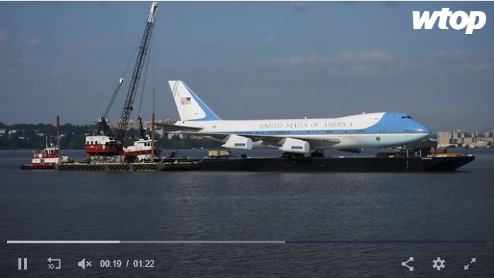 Air Force One Experience at National Harbor